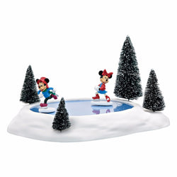 Mickey & Minnies Animated Pond  - Country N More Gifts