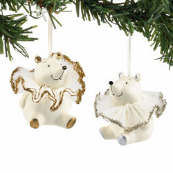 Brilliant Bear Ornament set of 2  - Country N More Gifts