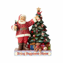 Coca-Cola Santa with Tree  - Country N More Gifts