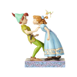 An Unexpected Kiss - Peter Pan, Wendy & Tinker Bell  - Country N More Gifts