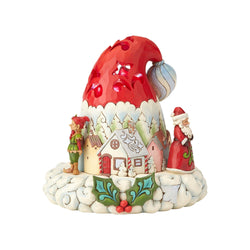 Hats Off to Christmas Magic - Lighted Santa Hat  - Country N More Gifts