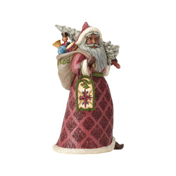 Victorian Santa with Toy Bag  - Country N More Gifts