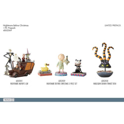 2019 Jim Shore Nightmare before Christmas Set 3 of All new 2019 items  - Country N More Gifts