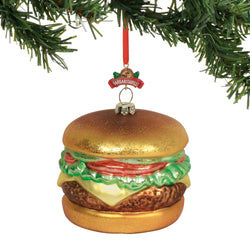 Cheeseburger In Paradise Orn.  - Country N More Gifts