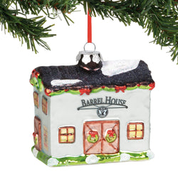 JD Barrel House Ornament  - Country N More Gifts