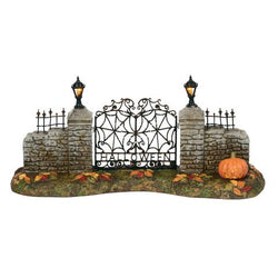 Halloween Village Gate  - Country N More Gifts