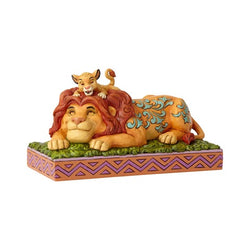 A Father's Pride - Simba & Mufasa The Lion King  - Country N More Gifts
