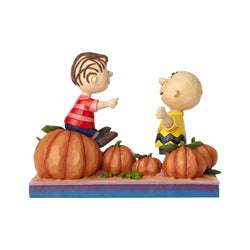 Pumpkin Patch Pals - Charlie Brown & Linus Pumpkin  - Country N More Gifts