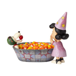 Apple Ace - Peanuts Halloween Candy Dish  - Country N More Gifts