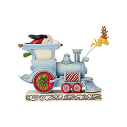 All Aboard - Snoopy And Woodstock Christmas Train  - Country N More Gifts