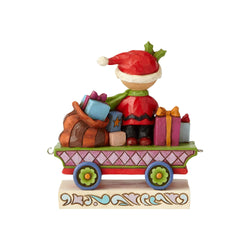 All Wrapped Up - Charlie Brown Christmas Train  - Country N More Gifts