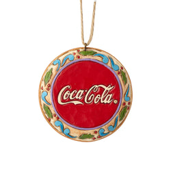 Santa Disk Ornament  - Country N More Gifts
