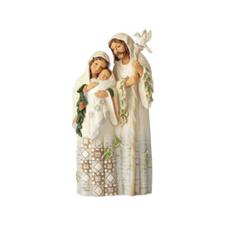 White Woodland Holy Family  - Country N More Gifts