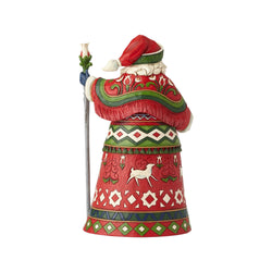 Nordic Noel - 2018 Lapland Santa with Staff - 11th in Series  - Country N More Gifts