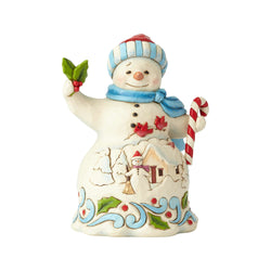 Pint Size Snowman with Candy  - Country N More Gifts