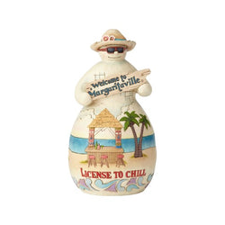Margaritaville Snowman TikiHut  - Country N More Gifts