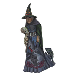Darkness Lives Within - Halloween Witch With Skull  - Country N More Gifts
