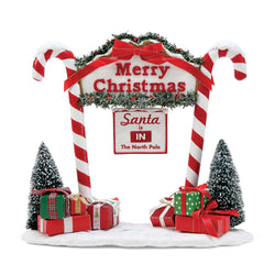 North Pole Gate  - Country N More Gifts