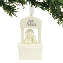 Free Advice Ornament  - Country N More Gifts