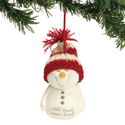 Cold Hands, Warm Hearts Ornament  - Country N More Gifts