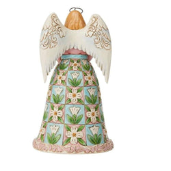 Always Forgiven, Never Forsaken - Angel with Cross Diorama Scene  - Country N More Gifts