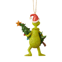 Grinch Holding Tree  - Country N More Gifts