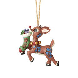 2019 Rudolph Stocking Ornament  - Country N More Gifts
