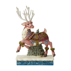 Adventure Bound - Victorian Reindeer Prancing  - Country N More Gifts