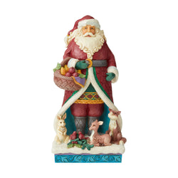A Festive Forage - Wonderland Santa With Animals  - Country N More Gifts