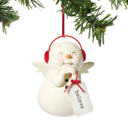 Believe Snowman Ornament  - Country N More Gifts