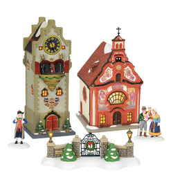2018 Alpine Village - All New Buildings And Accessories  - Country N More Gifts