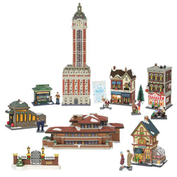 2018 Christmas In The City - All New Buildings And Accessories  - Country N More Gifts