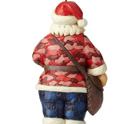 Camouflage Santa Ornament  - Country N More Gifts