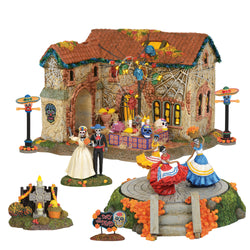 Day Of The Dead House And Accessories Value SET