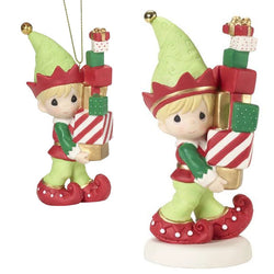 2018 3rd Annual Elf Series - Bringing You Loads Of Christmas Cheer SET  - Country N More Gifts