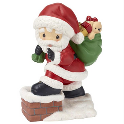 2018 10th Annual Santa Series Figurine - May Your Every Wish Come True - Dated SET  - Country N More Gifts