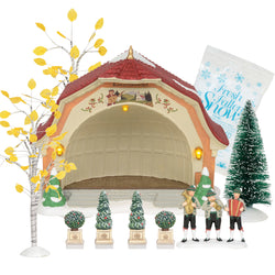 Bavarian Concert Hall Boxed Set of 4 and Accessories Value SET  - Country N More Gifts