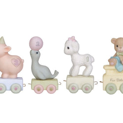 00-03 Bundle of Birthday Train Set of 4 -  Ages baby - 3  - Country N More Gifts