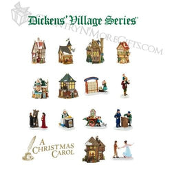2016 Dickens - All New Buildings and Accessories  - Country N More Gifts