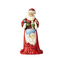 Jim Shore Heartwood Creek Santa Hugging Stuffed Animals Figurine  - Country N More Gifts