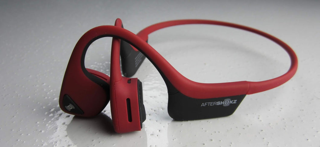 Trekz Air Wireless Headphones (Canyon Red)