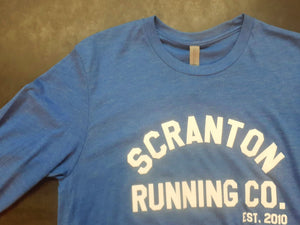 Scranton Running Co. Est. 2010 Men's Long Sleeve Crewneck