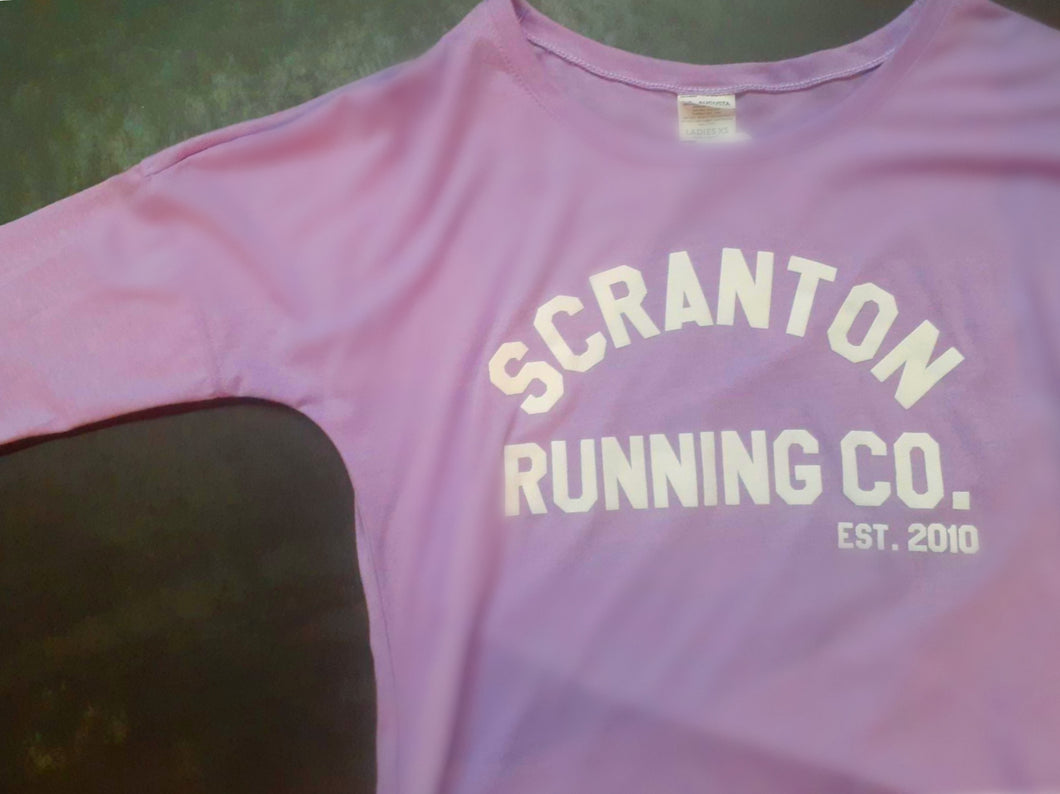 Scranton Running Co Women's Long Sleeve Tri-Blend in Lavender
