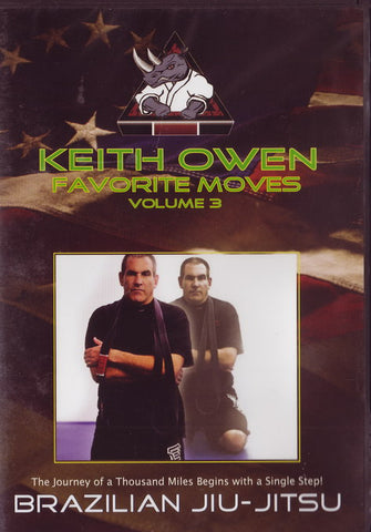 Keith Owen Favorite Moves Volume 3 No-Gi