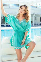Caliente designer Kaftan/dress (hand beaded) - Guilty Beach