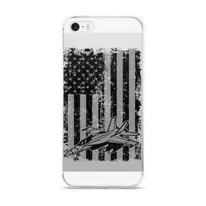 America and Fighter Jets iPhone Case