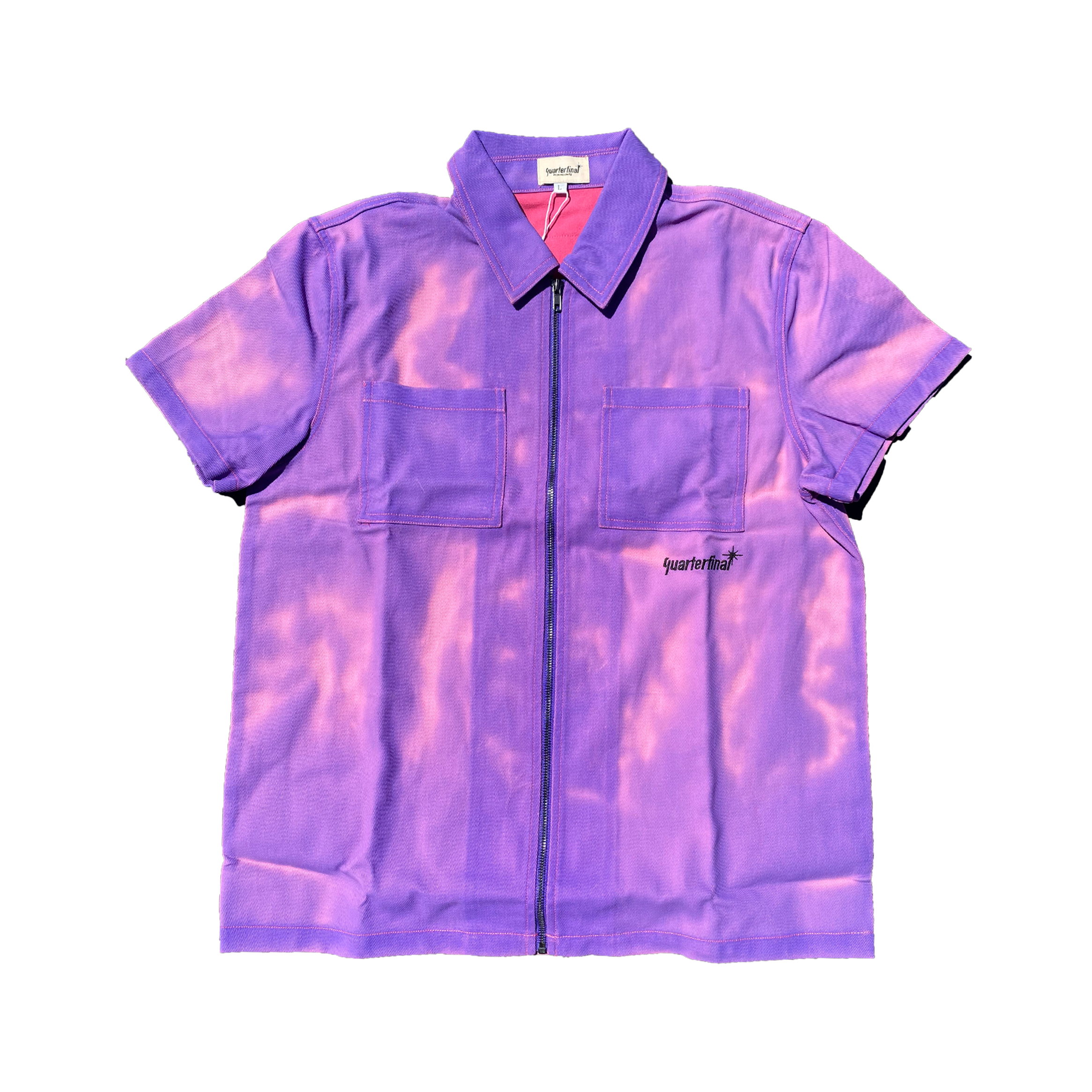QTFL HEAT SENSITIVE ZIP-UP SHIRT