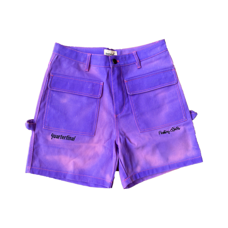 QTFL HEAT SENSITIVE DENIM SHORTS