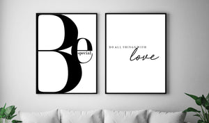 Featured wall art framed prints for the home.