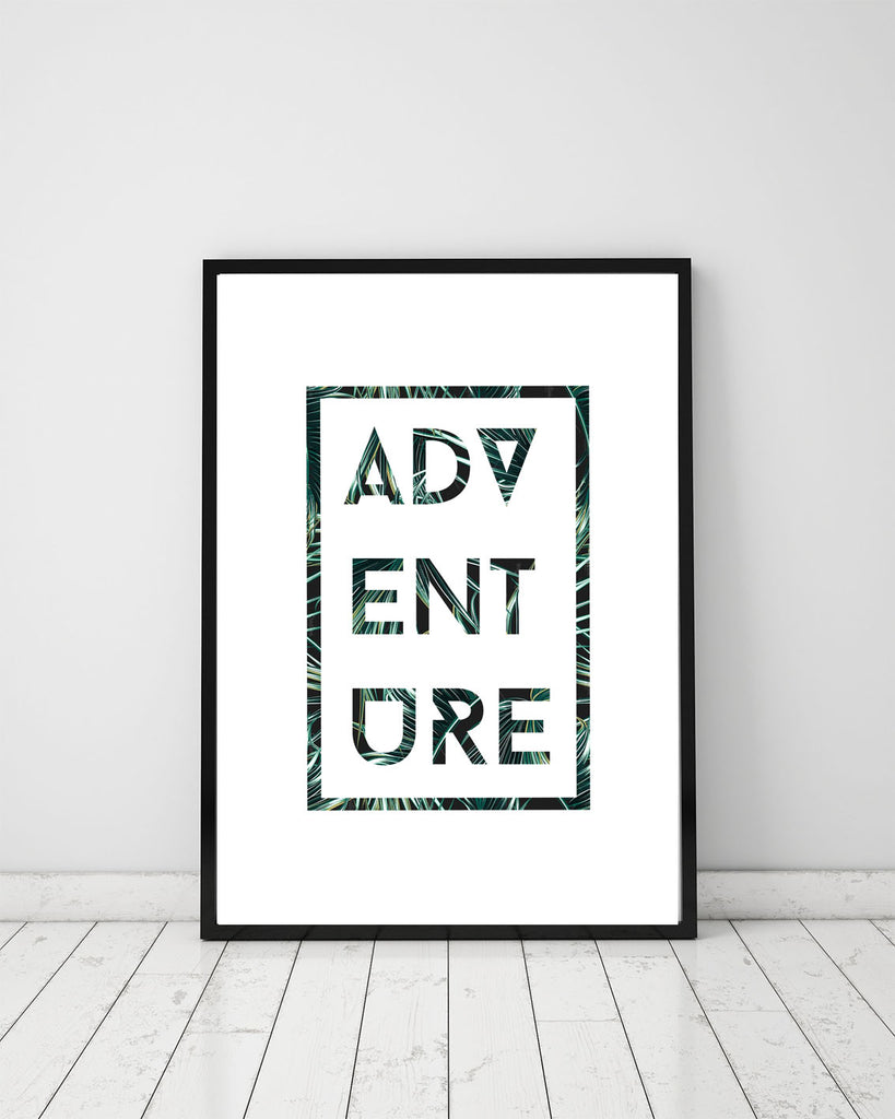 Adventure - Papercut Prints